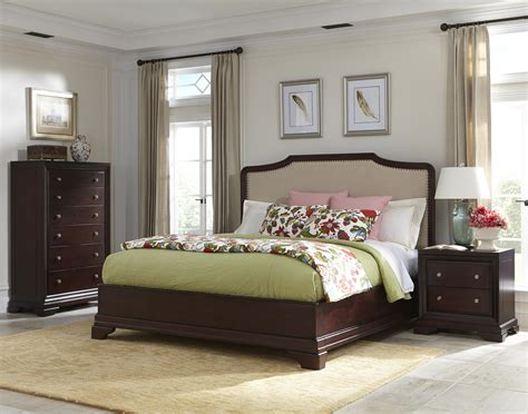 upholstered bed with wood trim upholstered bed with wood trim fine furniture collections
