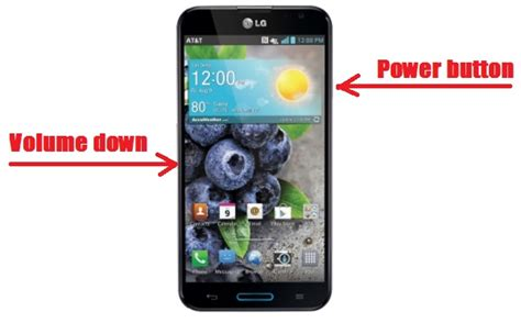how to screenshot on android lg how to screenshot lg optimus pro
