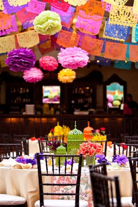 mexican themed dinner decorations mexican rehearsal dinner international events decor