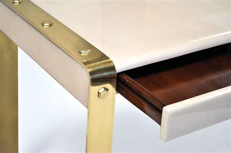 Brass Desk by Lug Desk With Brass Legs Scala Luxury
