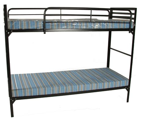 bunk bed with mattresses blantex c style institutional bunk beds w mattress