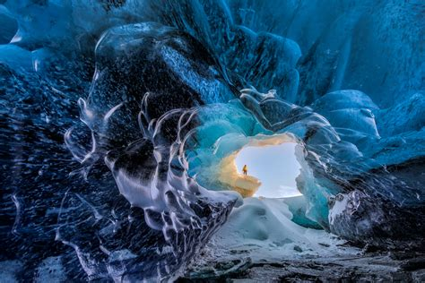 Iceland Ice Caves by 2 Day Ice Cave Tour South Coast Waterfalls Amp Jokulsarlon