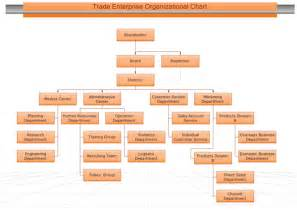 Financial Reporting Package Templates example of organizational chart
