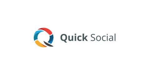 logo design quick quick social logo logomoose