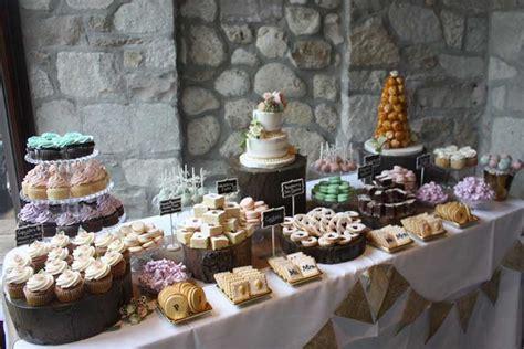 Dessert Table by Wedding Cake Photos The Cake Box