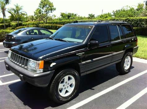 1993 Jeep Grand Laredo Sell Used 1993 Jeep Grand Laredo V8 4x4 Awd Black