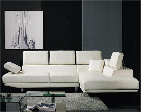 white sofa sets leather white leather 2pc sectional sofa set 44lt60hl
