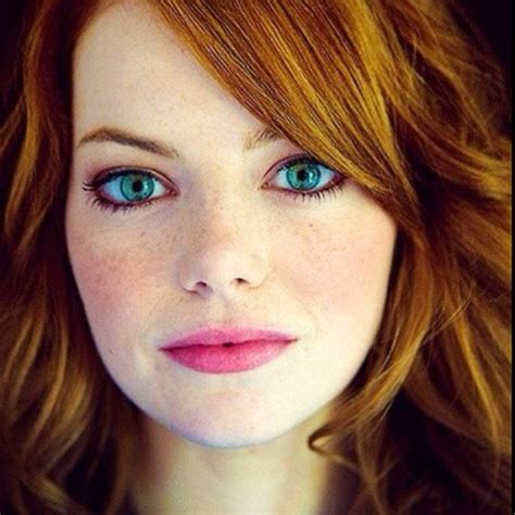 emma stone eye makeup emma stone has the prettiest blue eyes ever look into