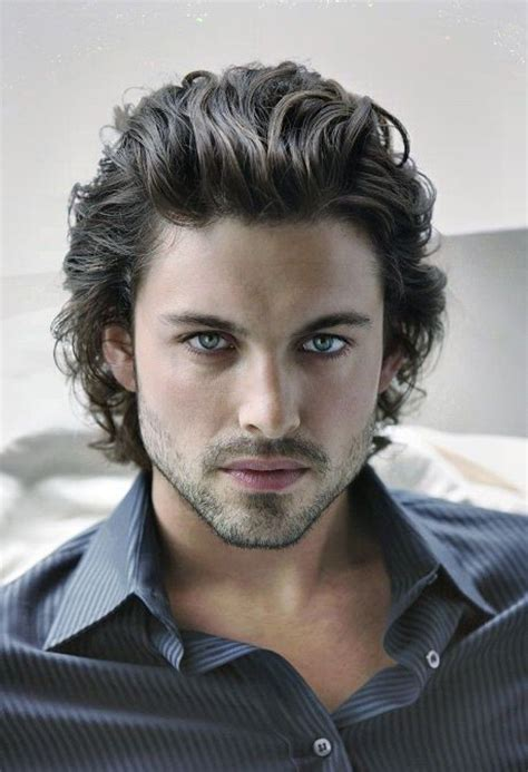 mens hairstyles pulled forward long curly hairstyles men mens hairstyles and haircuts