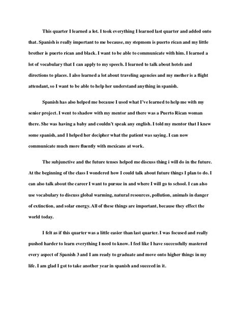 Course Reflection Essay by Course Reflection Essay