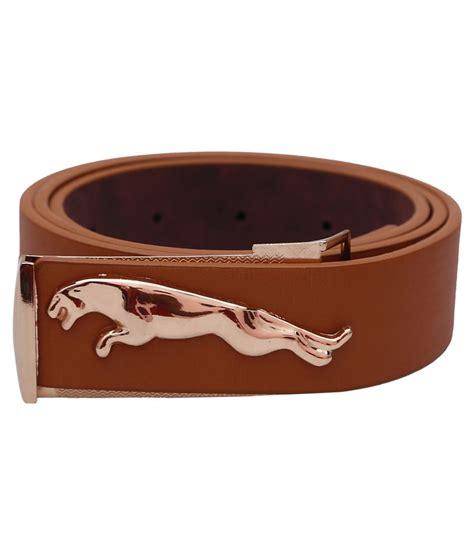 jaguar belt buckle stylehoops brown jaguar buckle leather belt buy at