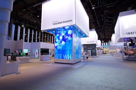 design lab esmalglass ces 2014 samsung booth design by mdlab thanks to http