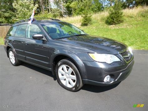 2008 subaru outback wagon 2008 gray metallic subaru outback 2 5i limited