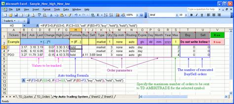 Options Trading Journal Spreadsheet by Options Trading Journal Spreadsheet