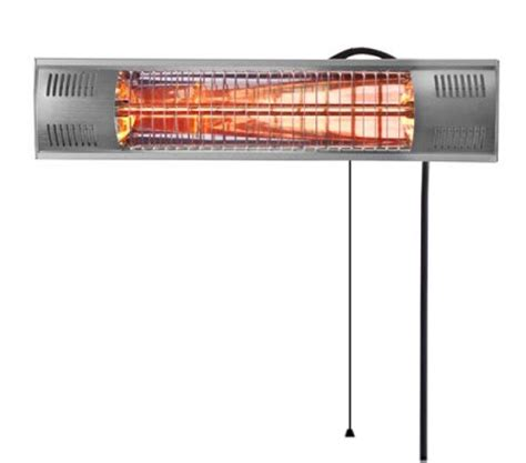 firefly 1 5kw patio heater with golden heating and