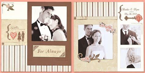 wedding scrapbook templates rashawn s orange and blue wedding color combination