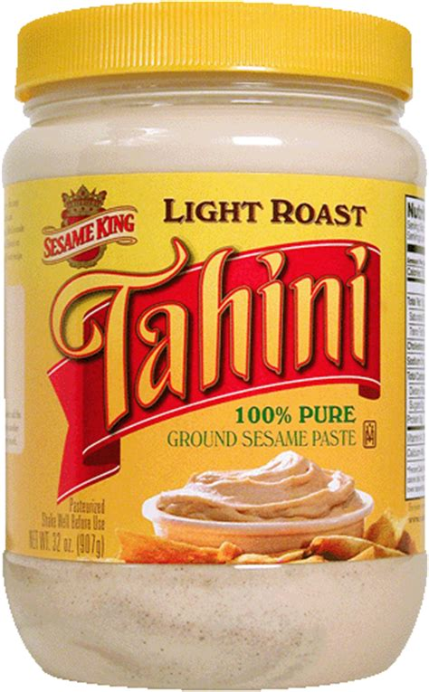 tahini grocery store section tahini paste light roast sunshine international foods