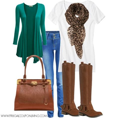 pinterest wardrobe frugal fashion friday emerald and cognac fall outfit