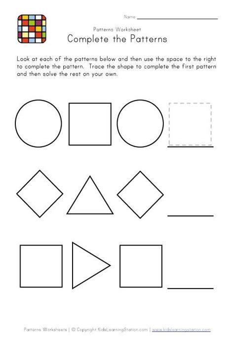 winter pattern worksheets for kindergarten preschool winter worksheets printables preschool