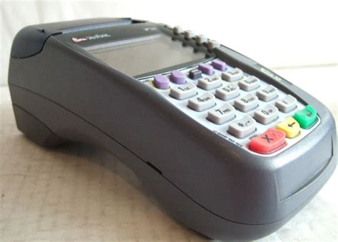 omni vx verifone omni 5700 vx570 credit card terminal tamper ebay