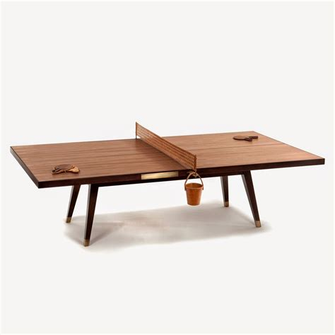 wooden pong table let s bounce wood ping pong table by etel ping pong