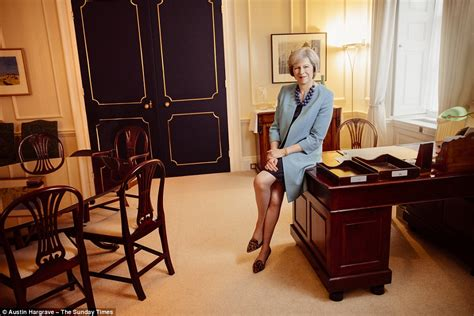 Home Interiors Candle inside downing street in pictures as theresa may relaxes