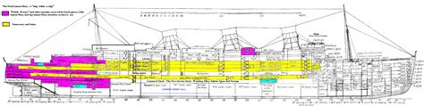 queen mary floor plan a ship within a ship