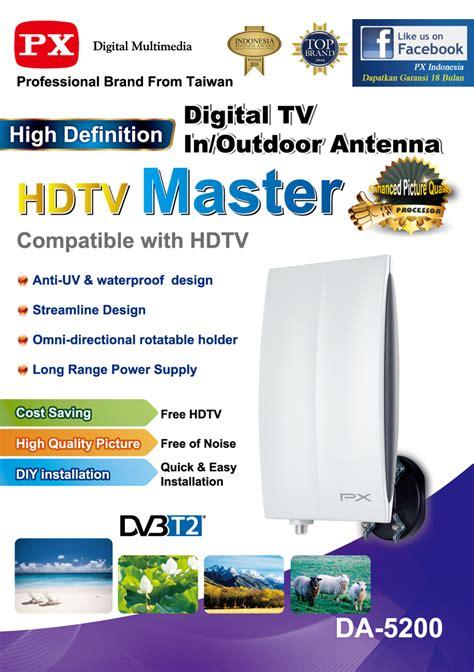 Antena Digital Px Da 5200 Like Da 5700 px digital tv indoor outdoor antenna da 5200 lazada