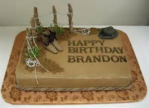 western style grooms cakes