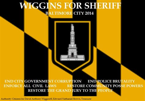 Baltimore City Office Of Child Support Enforcement by Citizens For David Anthony Wiggins 169