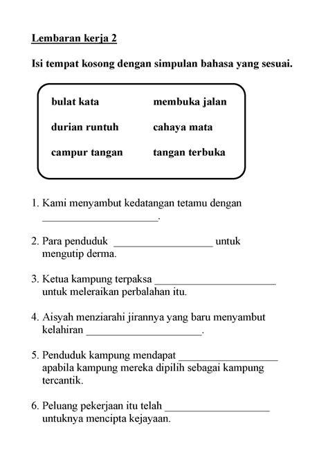 contoh ayat frasa nama tingkatan  contoh