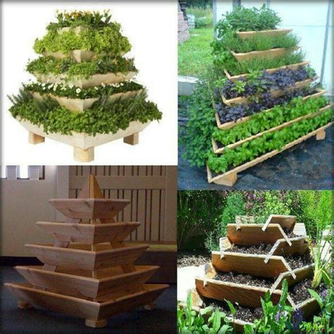 Pyramid Planters by Pyramid Planter The Magic Cottage