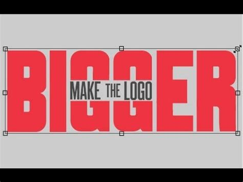 make my logo bigger make the logo bigger