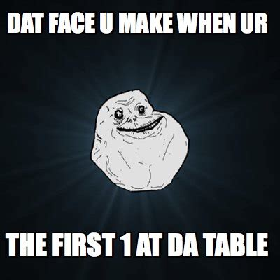 Make Ur Meme - meme creator dat face u make when ur the first 1 at da