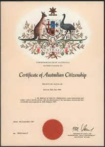 Certificate Australia Template by Australian Citizenship Certificate Search