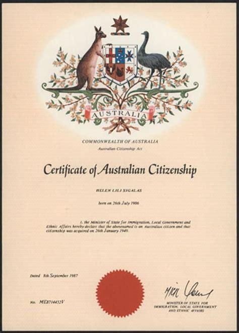 australian citizenship certificate search