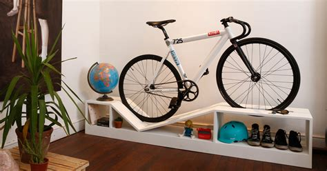 Bike Rack Apartment by Furniture Doubles As Bike Racks To Save Space In Tiny