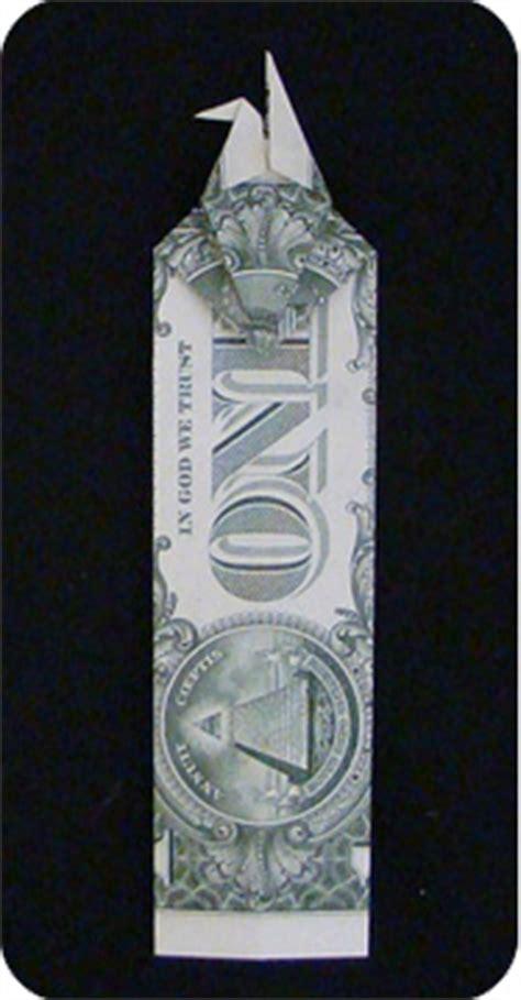 Money Crane Origami - money crane bookmark crane bookmark make origami