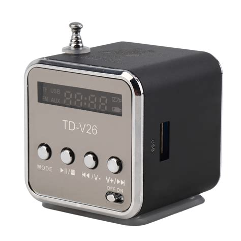 Usb Radio portable tf usb mini stereo speaker player fm radio