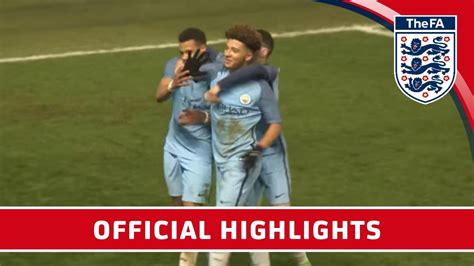 official manchester city 2016 191019929x man city 6 0 stoke 2016 17 fa youth cup semi final first leg official highlights youtube