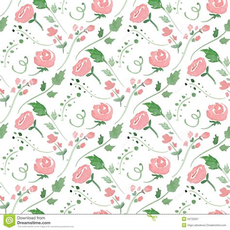 watercolor pattern for illustrator vector illustration seamless pattern with stock vector