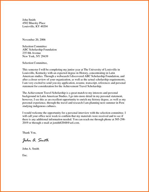 sle of motivation letter for master degree scholarship