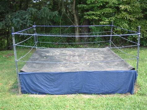 how to make a backyard wrestling ring backyard wrestling ring outdoor furniture design and ideas