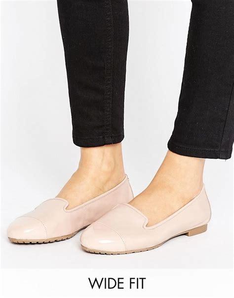 wide fit flat shoes dune wide fit dune wide fit blush ballet flat shoes