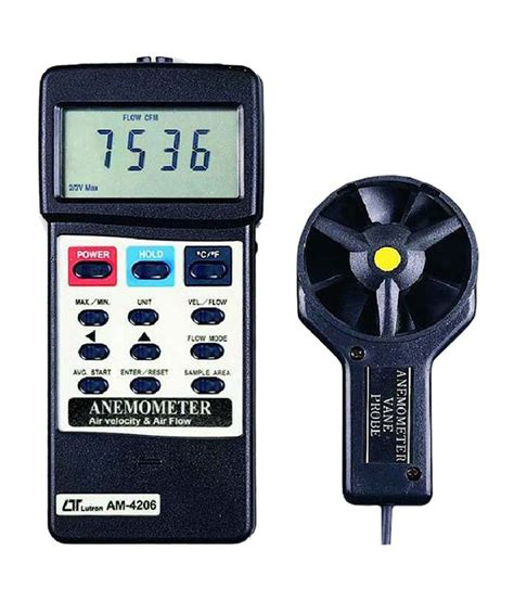 Lutron Am 4206 Anemometer by Lutron Electronic Anemometer Am 4206 Buy Lutron