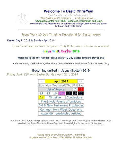 basic christian easter 10 day timeline devotional jesus 10 day easter timeline devotion by david brown issuu