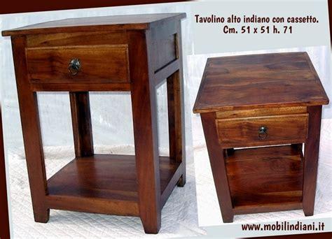 tavolino con cassetto tavolini tavolino etnico alto con cassetto