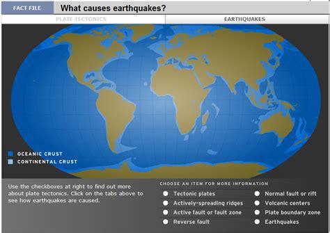 earthquake reason tech coach october 2011