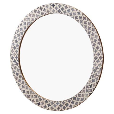 bone inlay mirror mandie global bazaar bone grey inlay quatrefoil wall mirror kathy kuo home