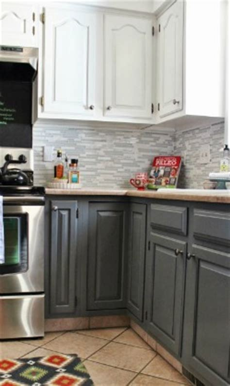 how to paint kitchen cabinets gray remodelaholic trends in cabinet paint colors